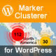 Marker Clusterer Add-On for Wordpress
