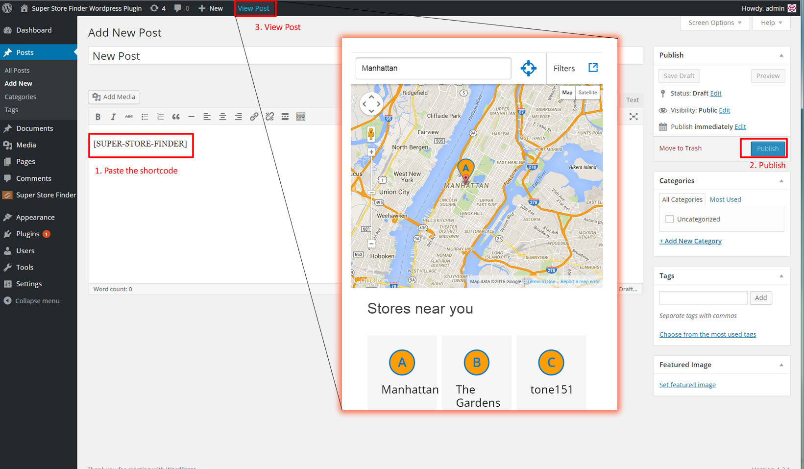 quickstart2 User Guide Super Store Finder