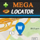 Mega Locator Theme - Super Hifadhi Finder