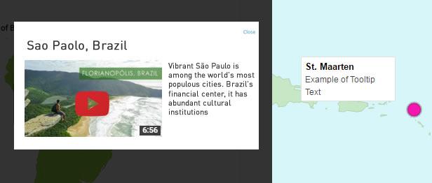 Super Interactive Maps - Map Interactivity