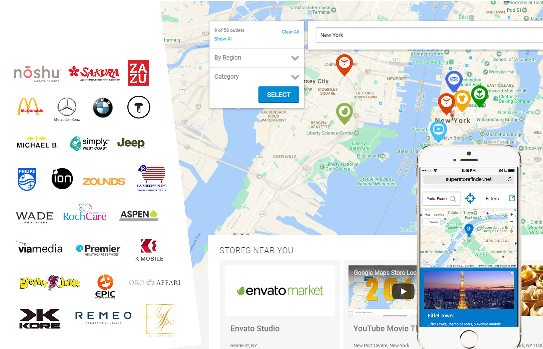 Super Store Finder - Get the Best Google Maps Store Locator